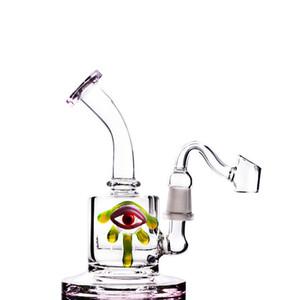 El humo de cristal de las cachimbas del vidrio del tazón de fuente del nuevo estilo 2018 para el agua de cristal del tabaco Bongs