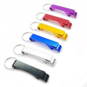 أزياء ملونة جيب مفتاح سلسلة فتاحة زجاجات مخلب بار المشروبات الصغيرة فتاحة البيرة حلقة رئيسية LX3312
