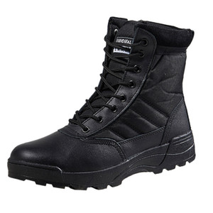 Hiking Shoes Men Outdoor Sports Combat Desert Special Forces Climbing Trekking Military Tactical Security Boots Women Sneakers