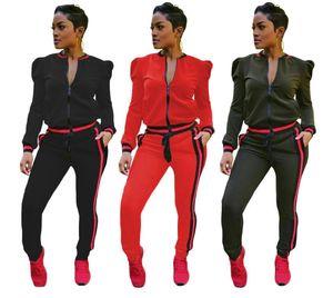 2019 sexy top e pantaloni due pezzi set tuta donna 2 pezzi abiti twotwinstyle tute da donna