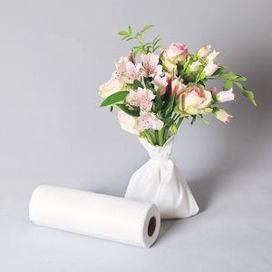 25cm x 37cm 200pcs flor de embalaje de papel de algodón floral mantener la esponja de agua Para el ramo de Rose Hidratante Papel Espuma Floristería Suppliest