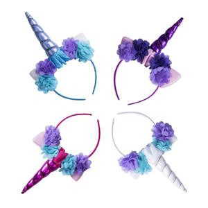Chifre de unicórnio bonito headband fancy dress crianças festa de aniversário festa de cosplay novo