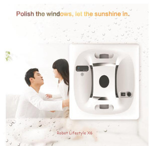 NEW! Robot Window Cleaner robot glass cleaner with UPS electrical storage devices