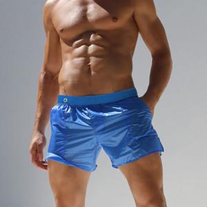 섹시한 수영복 남자 비치 바지 섹시 반투명 남자 반바지 패션 바지, 스포츠 바지 팬티 팬티 반바지 비치 선가