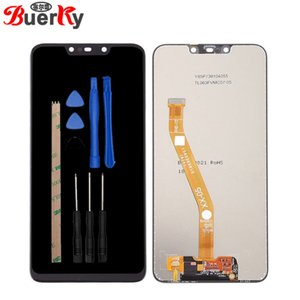 Для Huawei P Smart Plus Nova 3i полный ЖК-дисплей в сборе в комплекте с сенсорным датчиком планшета бесплатная доставка