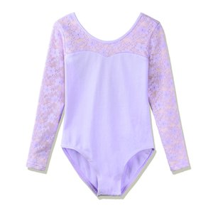 BAOHULU Kids Ballet Dress Ginnastica Body Cute Girls manica lunga Balletto Dance Wear Dress Bikini Ginnastica Body Abbigliamento