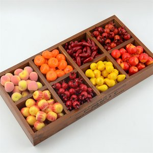 20Pcs Artificial Mini Simulation Small Foam Plastic Fake Artificial Fruit and Vegetables House Party Kitchen Wedding Decoration