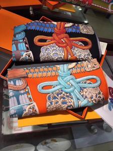 Luxus neue Kaschmir und Seidenschal Schal Decke Signage H Marke große quadratische Schal Schal Pferd Auto und Ropepattern Weihnachtsgeschenk