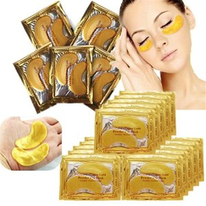 New Collagen Crystal Eye Masks Moisturizing Eye Masks Moisturizer Masks Collagen Gold Powder Eye Mask 2801075