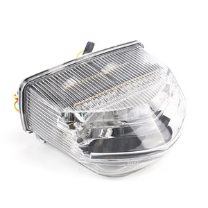 transparent Motorcycle LED Tail Light Signal light For Honda CBR600RR 2007-2014 CBR600RA 2009-2011