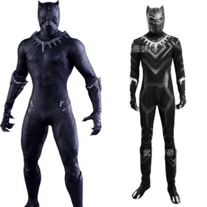 New Marvel Black Panther T'Challa Combinaisons Costume Uniforme Cosplay