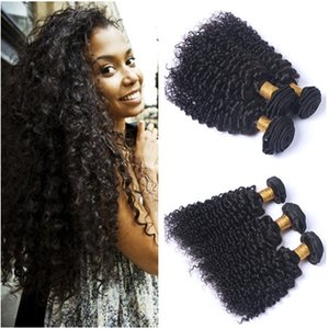 Cheap Indian Virgin Human Hair Extensions Double Wefted Deep Curly Human hair Weave Bundles 3Pcs Lot Indian Hair Bundle Deals Tangle Free