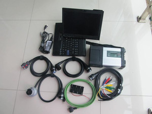 أحدث لمرسيدس ماسحة ميغابايت ميغابايت C5 أداة تشخيص مع الكمبيوتر المحمول X200T HDD 320GB مجموعة كاملة جاهزة للعمل
