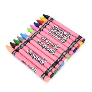 8 colori multi funzione penna rossa bella animale coniglio maiale non tossico pastello pittura ad olio bastone bambini studente scuola fornitura di disegno
