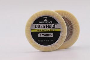 Nueva Walker Ultra Hold Cintas 1/2 X 3 Yard rollo de encaje peluca de pelo Sistema, Hombres Bisoñes, Pu para hombre de la peluca la cinta adhesiva