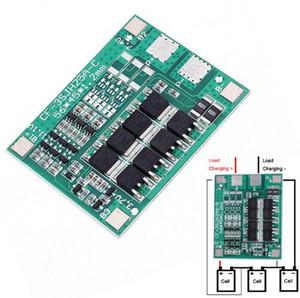 Kostenloser Versand! 1 teil / los 25A 3 S Polymer Lithium Batterie 18650 Ladegerät PCB BMS 3 Serielle 12 V 3,7 Lipo Li-Ion Lade Protectio