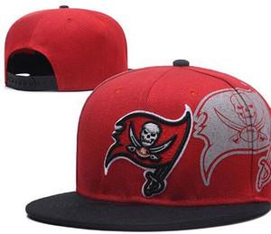 Sıcak Satış Tampa Bay Amerika Spor Snapback Tüm Ekipleri beyzbol futbol Şapkaları Hip Hop Snapbacks Kap Ayarlanabilir Spor şapkalar