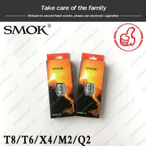 100% оригинальный SMOK TFV8 Baby Beast танк катушка головки V8 Baby-T8 T6 X4 M2 Q2 ом замена сердечника катушки подлинная