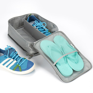 Flight Travel Shoes Bag Mens and Womens Travel Accessories Portable Shoe Bags Waterproof Carrying Shoe Packing Organizers