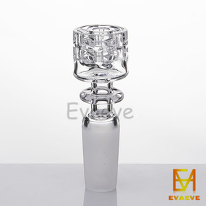 Cuarzo Nail Diamond Nudo Nail 2mm Grueso 10mm 14mm 19mm Male / Female Frosted Joint para plataformas petrolíferas