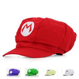 Erkek Beyzbol Şapkası Oyunu Süper Mario Odyssey Luigi Yoshi Wario Waluig Şapkalar Cosplay Cadılar Bayramı Karnaval Parti Kostümleri Prop Şapka