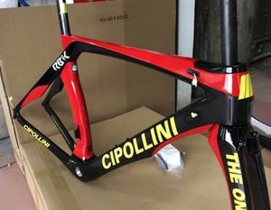 T1000 3 K / UD / 1 K MCipollini RB1K BIR karbon yol bisikleti çerçeveleri Cipollini ile XXS / XS / S / M / L Mat / Parlak seçim için 24 renkler
