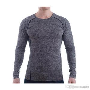 Collant respirant confortable à manches longues pour hommes