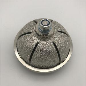 Fraise à souder sous vide L40 Diamant Bit Roue de profilage pour le calcaire de marbre Doux Profil de granit Coupe Bits Wet ou Dry