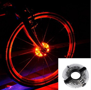 Leadbike جديد دراجات الدراجات محاور ضوء الدراجة الجبهة / الذيل ضوء led تكلم عجلة تحذير ضوء ماء الدراجة اكسسوارات