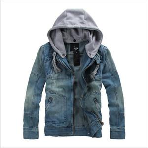 GODLIKE 2018 Herren Frühling tragen neue Mode Business casual große Größe langärmelige Jeansjacke D18100803