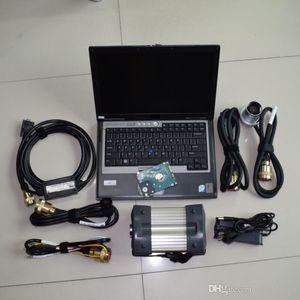 MB Star C3 Diagnost Tool com HDD instalado bem em D630 Laptop completo pronto para usar 2 anos de garantia