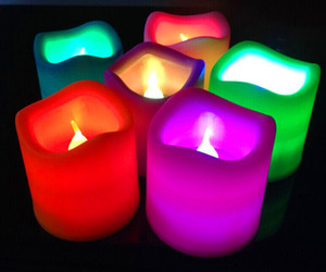 Dalga elektronik mum lamba renkli LED elektronik mum romantik teklif evlilik teklifi elektronik mum üreticisi Yenilik Lighti
