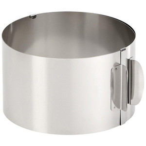 Küchenzubehör Kuchenform Cutter Gebäck-Werkzeug-Edelstahl runder Kreis Plätzchen Fondant Maker Bakeware Werkzeuge