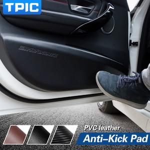 vendita all'ingrosso TPIC car door anti-kick pad adesivo pelle ultra-sottile in pvc porta protezione lato bordo pellicola per bmw e90 f30 f34 f10 car styling