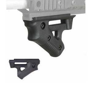 Poignée antiglisse ergonomique ergonomique sur rail NOIR pour poignées Picatinny Weaver Rails BK