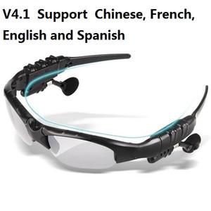 V4.1 Drahtlose Bluetooth Sonnenbrillen Sonnenbrillen Stereo-Freisprecheinrichtung Kopfhörer Ohrhörer für Smartphone im Einzelhandel HBS-368 20ST