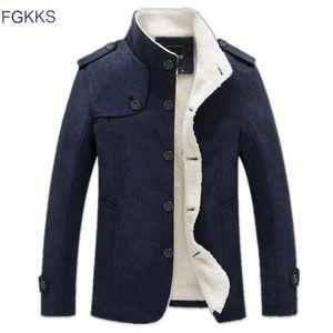 FGKKS 2018 Novos Homens Jaqueta de Inverno Moda Blusão Homens de Marca Militar de Alta Qualidade Casaco Jaqueta Roupas Masculinas