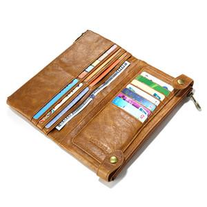 Floveme retro bolsa de couro bolsa case para iphone samsung lg g3 g4 homem mulher negócio acessórios do telefone móvel carteira malotes