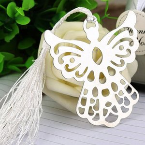 Angel Tassel Stainless Steel Bookmark School Supplies Page Holder With Gift Box