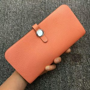 الفاخرة مصمم النساء المحفظة النساء محافظ سيدة حامل بطاقة محفظة جلدية عالية الجودة بواسطة جلد العجل