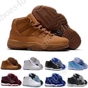 Barato New 11 S Branco Preto Concordas Escuras 11 Sports Shoes 11's Concord Tênis de Basquete Homens Botas de Sneaker Atletismo frete grátis