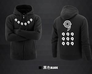 Ectic Hoodies Anime Ootutuki Hagoromo Rikudo Sennin Cosplay Coat Jacket Winter Men Thick Zipper Hoodie Sweatshirts