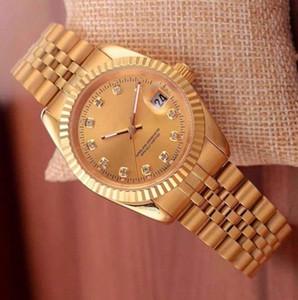 2018 orologio da uomo meccanico automatico di lusso calendario black bay designer orologi di diamanti all'ingrosso donne di alta qualità vestito oro rosa orologio