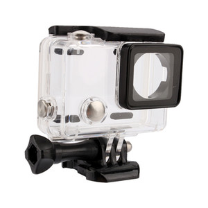 Freeshipping 50yd Transparent Shockproof Diving Shell Box Underwater Waterproof Camera Housing Case Cover For Gopro Hero 4 3+ 3