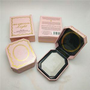Marcas Faced Diamond Highlighter Cosmetics Maquillaje facial Professional Beauty Press Powder Palette Multiusage Rehausseur Eclat Diamant 6 Color