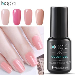 Inagla Long Last Soak Off Starry Gel UV LED Glitter Lacquer Polish Manicure 79 Color Super shining Gel Nail Polishes