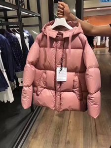 M32 CERCIS Damen Frauen Daunenjacke Wintermantel Marke weibliche Kleidung echten dicken Mantelkragen Kapuze Frauen Daunenjacke