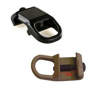 Хорошее качество QD стали слинг крепление стропы пряжки пластины адаптер крюк крепление для 20 мм Пикатинни