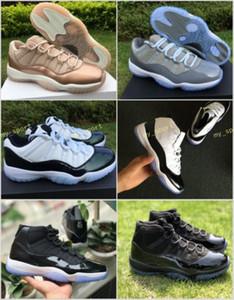 11 Low Easter Emerald Green Raffreddare Space Jam in oro rosa grigio Gamma Blue Concord 45 Scarpe da basket Uomo Donna XI Perfect 11s Sneakers