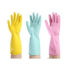 Luvas De Lavar Louça De Borracha De Uso Doméstico Luvas De Lavar Roupa Luva De Lavar Louça Amarela Azul Amarelo Lavar Louça